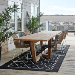 Rivièra Maison Tuintafel 'Tanjung' 400 x 100cm