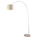 Artistiq Vloerlamp 'Kellie' 205cm hoog, kleur Wit