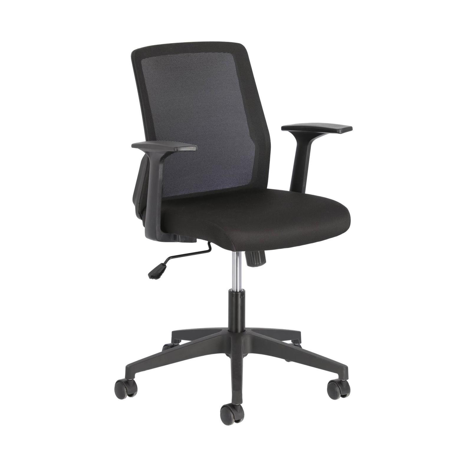 Kave Home Bureaustoel 'Nasia', kleur Zwart