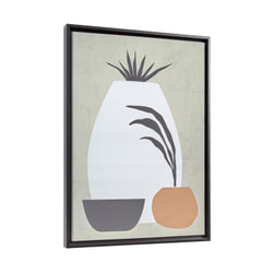 Kave Home Wanddecoratie 'Bianey', kleur Grijs