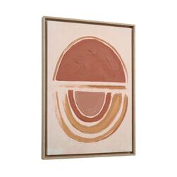 Kave Home Wanddecoratie 'Gara', kleur Rood