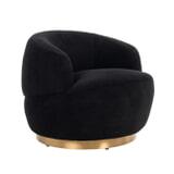 Richmond Fauteuil 'Teddy' kleur Zwart