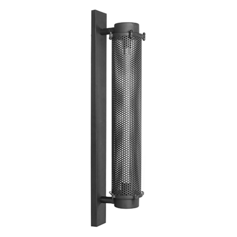 LABEL51 Wandlamp 'Tube', Metaal, 80cm, kleur Zwart