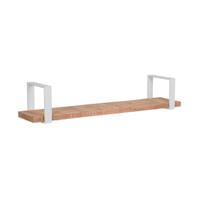 LABEL51 Wandplank 'Slam', Mangohout, 100 x 23 x 20cm