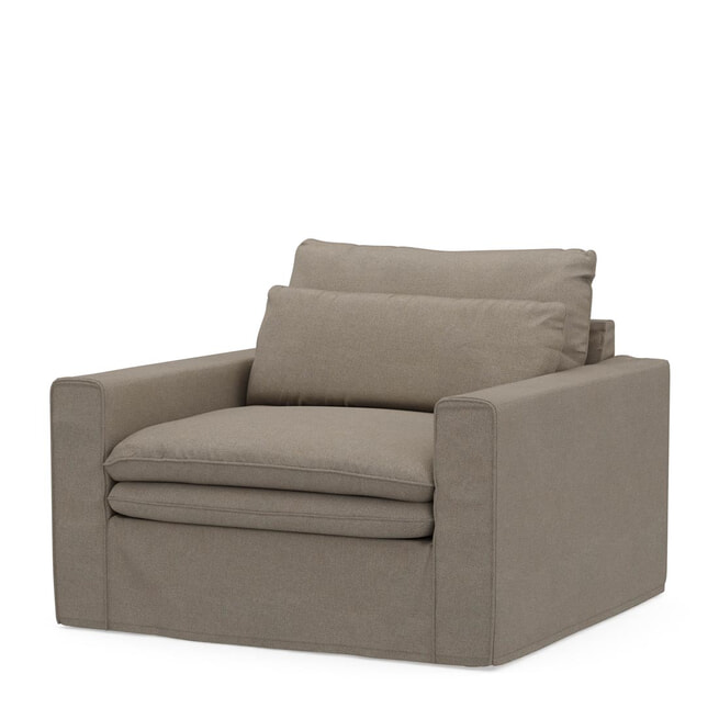 Rivièra Maison Loveseat 'Continental' Oxford Weave