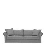 Rivièra Maison 3,5-zits Bank 'Carlton' Washed Cotton, kleur Grey