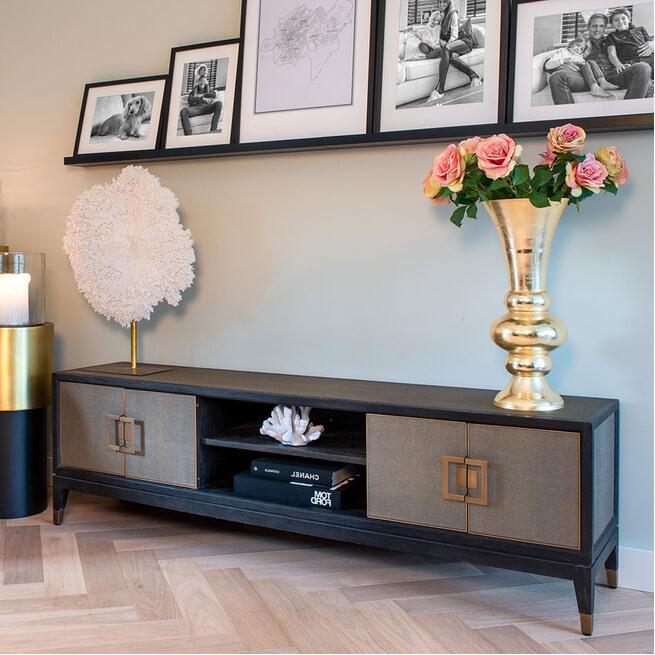 Richmond TV-meubel 'Bloomingville' Eikenhout, 185cm