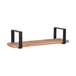 LABEL51 Wandplank 'Slam' kleur Zwart