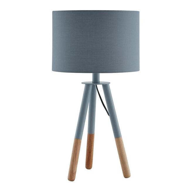 Artistiq Tafellamp 'Renee', 55cm, kleur Grijs