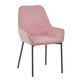 Artistiq Eetkamerstoel 'Zoey', kleur Roze