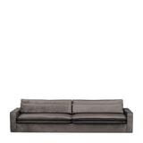 Rivièra Maison Bank 'Continental' XL, Velvet, kleur Grimaldi Grey
