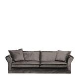 Rivièra Maison 3,5-zits Bank 'Carlton' Velvet, kleur Grimaldi Grey