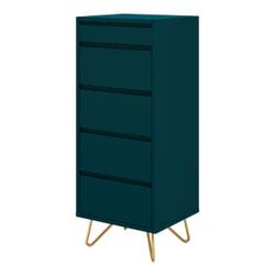 Artistiq Ladekast met spiegel 'Hilde', 110 x 45cm, kleur Blauw