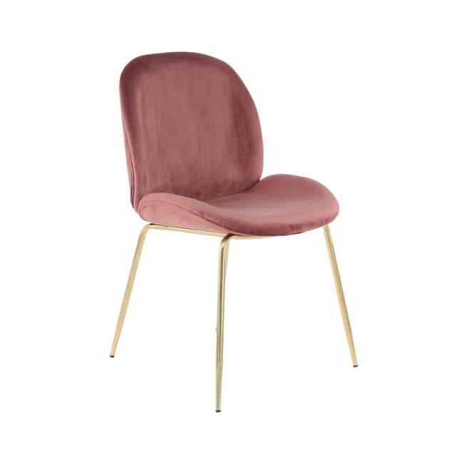 Kayoom Eetkamerstoel 'Charlize' kleur roze