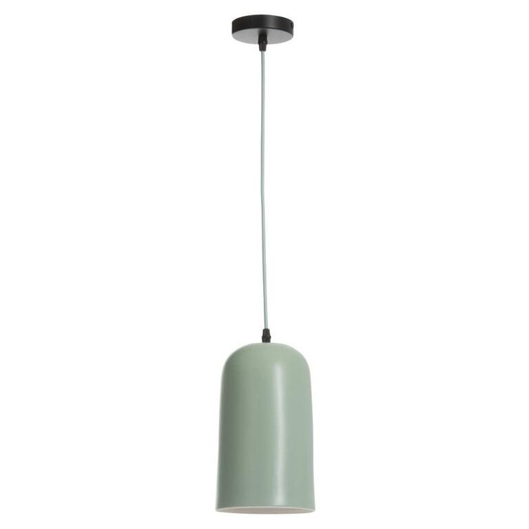 J-Line Hanglamp 'Gregoor' kleur Groen, Ø14,5cm