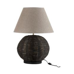 J-Line Tafellamp 'Alphonsius' kleur Zwart, Ø38cm
