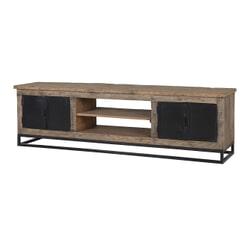 Richmond TV-meubel 'Raffles' Staal en gerecyceld hout, 180cm