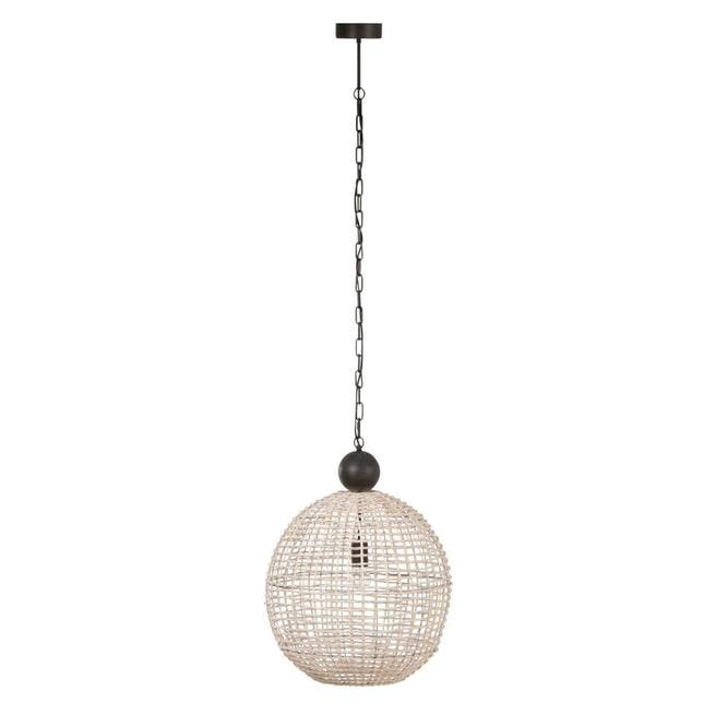 J-Line Hanglamp 'Lambertine' kleur Wit, Ø50cm