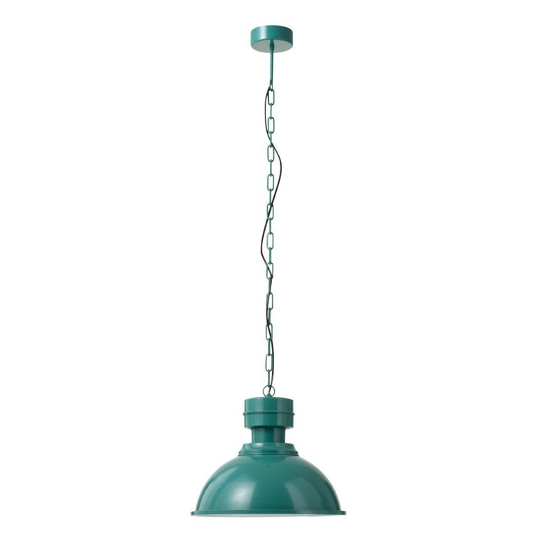 J-Line Hanglamp 'Fabien' kleur Groen, Ø39,8cm