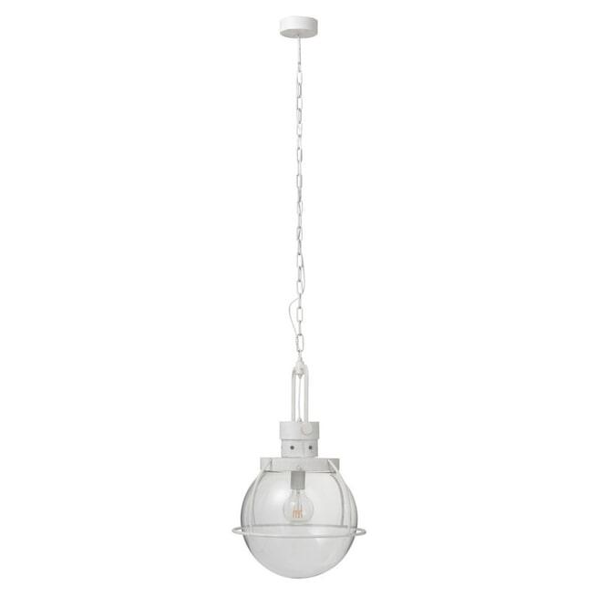 J-Line Hanglamp 'Patrik' kleur Wit, Ø40cm