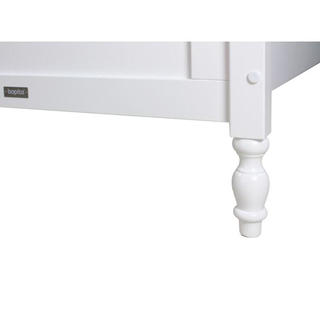 Bopita Bedbank 'Belle' 90 x 200, kleur wit