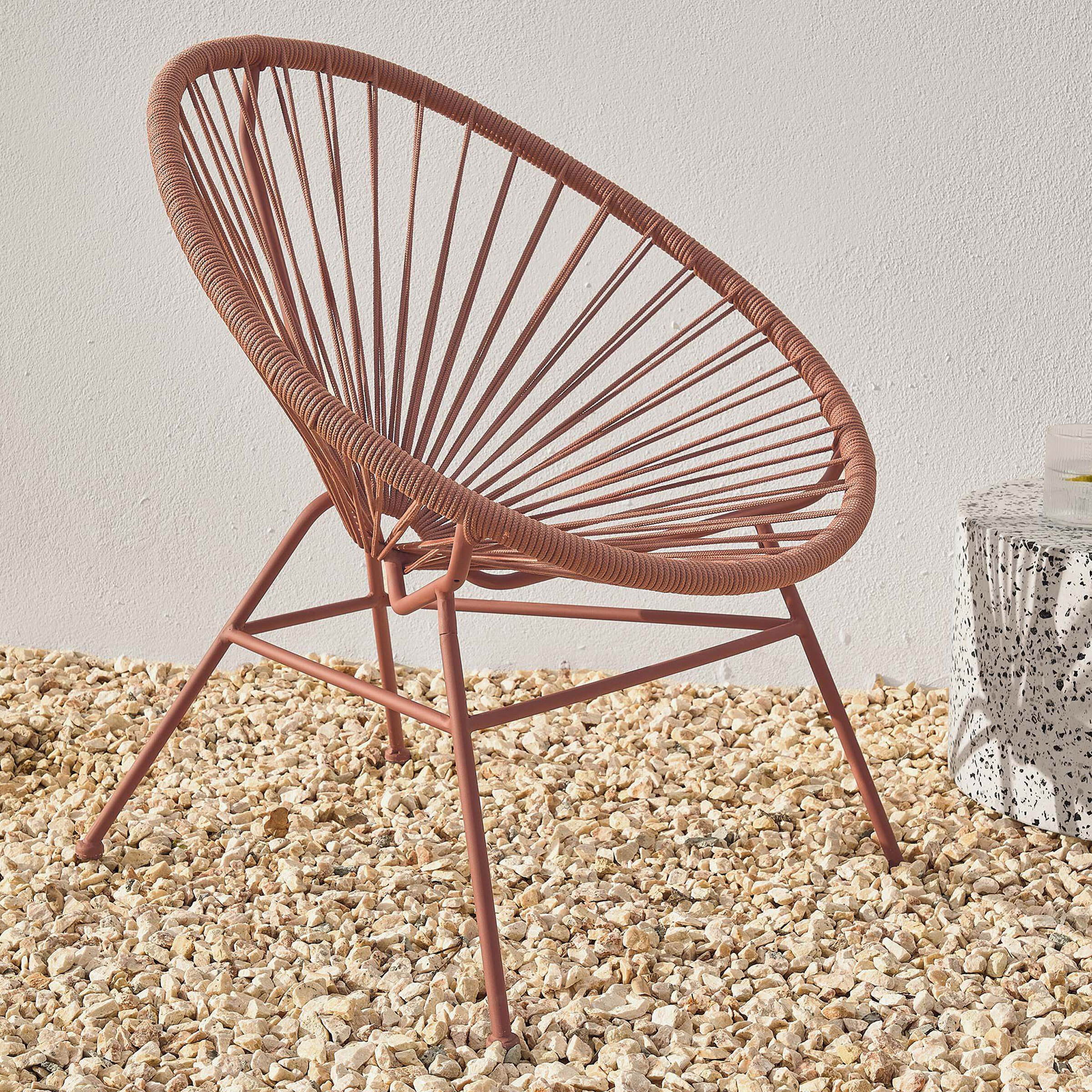 Kave Home Tuinstoel 'Samantha', kleur Bruin