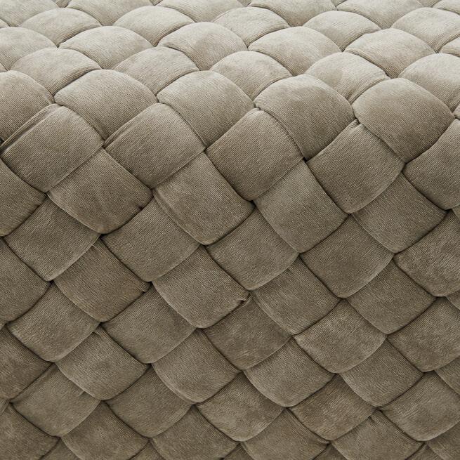 Rivièra Maison Eetkamerbank 'Room 48' 150cm, Fine Tweed, kleur Pebbles