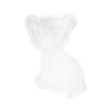Kayoom Vloerkleed 'Tijgertje' kleur Wit, 69 x 90cm