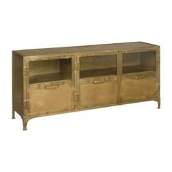 RENEW Tv-meubel 'Geneve' kleur Antique Brass, 150cm