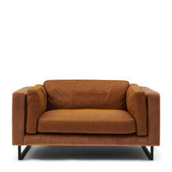 Rivièra Maison Loveseat 'Biltmore' Leather en Velvet