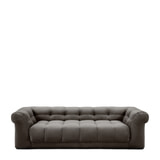 Rivièra Maison 3,5-zits Bank 'Cobble Hill' Velvet, kleur Grimaldi Grey