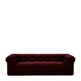 Rivièra Maison 3,5-zits Bank 'Cobble Hill' Velvet III, kleur Burgundy