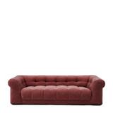 Rivièra Maison 3,5-zits Bank 'Cobble Hill' Velvet III, kleur Misty Rose