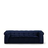 Rivièra Maison 3,5-zits Bank 'Cobble Hill' Velvet III, kleur Midnight Blue
