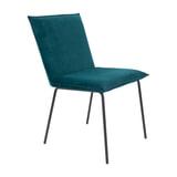 ZILT Eetkamerstoel 'Ben', kleur Turquoise
