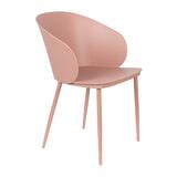 ZILT Eetkamerstoel 'Gigi', kleur Roze