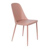 ZILT Eetkamerstoel 'Pip', kleur Roze