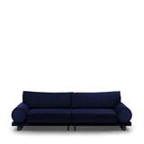 Rivièra Maison 3,5-zits Bank 'Collins' Velvet, kleur Midnight Blue