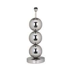 Richmond Tafellamp 'Jasey', 71cm, kleur Zilver