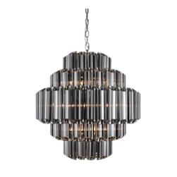 Richmond Hanglamp 'Yara', Glas, kleur Zilver