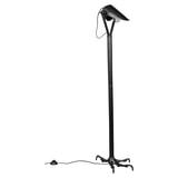Dutchbone Vloerlamp 'Falcon' 137cm, kleur Zwart
