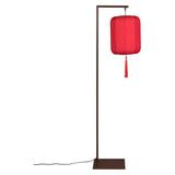 Dutchbone Vloerlamp 'Suoni' 157cm, kleur Rood