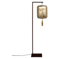 Dutchbone Vloerlamp 'Suoni' 157cm, kleur Goud