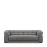 Rivièra Maison 3,5-zits Bank 'Cobble Hill' Washed Cotton, kleur Grey