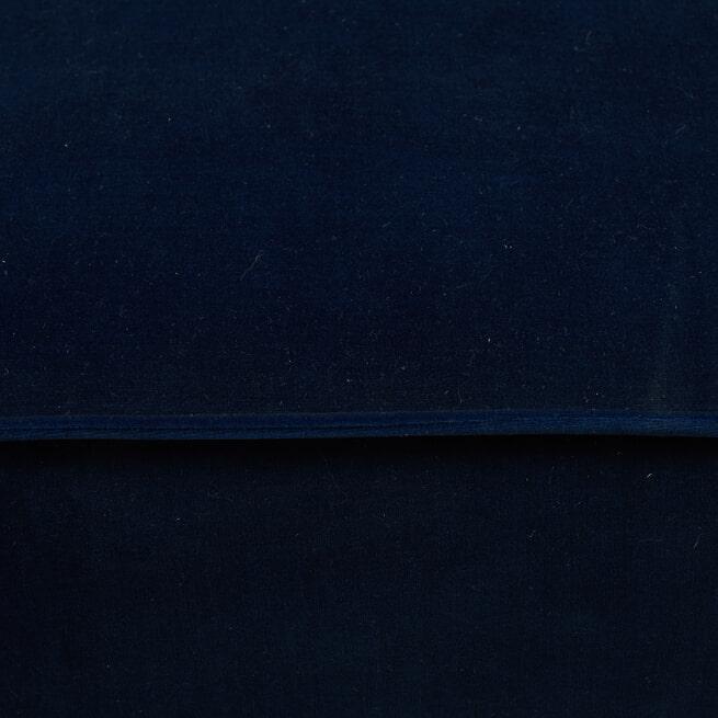 Rivièra Maison Modulaire Bank 'The Jagger' Center 125cm, Velvet, kleur Midnight Blue