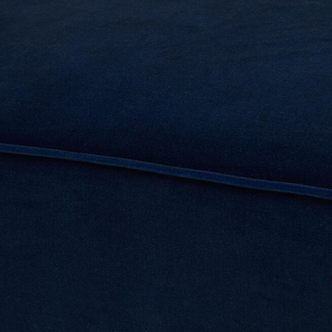 Rivièra Maison Modulaire Bank 'The Jagger' Center 95cm, Velvet, kleur Midnight Blue