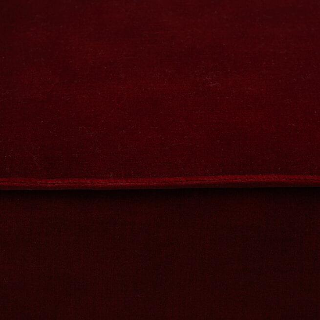 Rivièra Maison Modulaire Bank 'The Jagger' Corner Rechts, Velvet, kleur Vineyard Burgundy