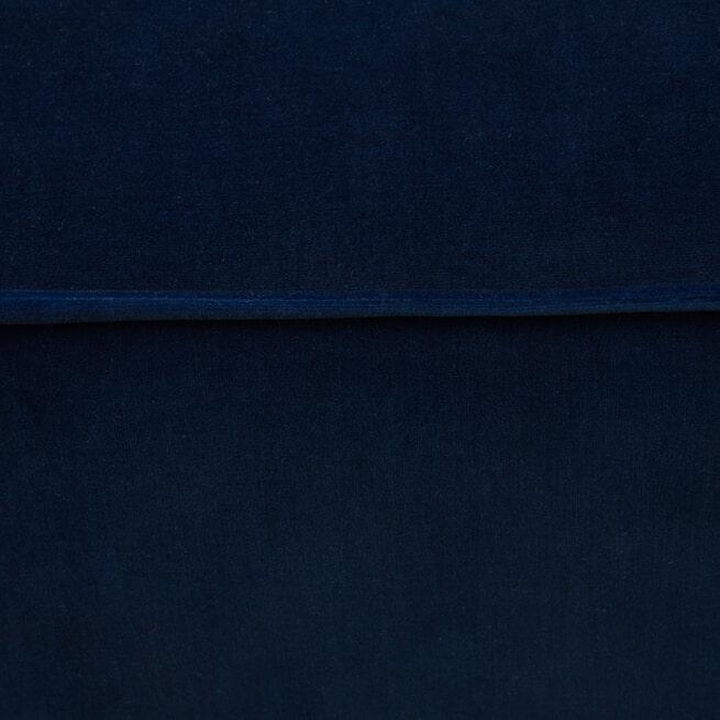 Rivièra Maison Hocker 'The Jagger' Velvet, kleur Midnight Blue