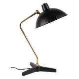 Dutchbone Tafellamp 'Devi' 52cm, kleur Zwart