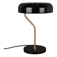 Dutchbone Tafellamp 'Eclipse' 42cm, kleur Zwart